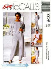 McCalls 2259 Misses Wardrobe Sewing Pattern ~ Duster Jacket Dress Top Pants ***