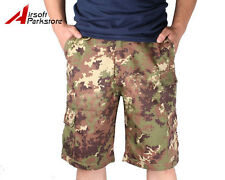 Tactical Military Army Camouflage BDU Shorts Combat Pants Italian Camo 30W-38W