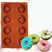 Baking Silicone Donut Doughnut Cake Chocolate Soap Jelly Mold Mould Pan Tools W
