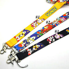 Sonic the Hedgehog Lanyard Keys ID Cell Phone Neck Strap *New*