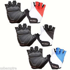 New Cycling Bike Bicycle Motorcycle MTB Antiskid GEL Silicone Half Finger Gloves