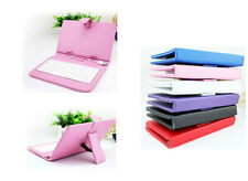 "7"" inch Classical PU Leather USB/micro Keyboard Stand Case for Android Tablet"