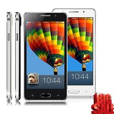 "5"" Unlocked Android 4.4 Smart Phone Dual SIM 3G/GSM GPS Best Mobile Cell Phone"