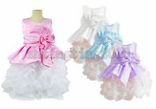1pcs NEW Baby Girl Clothes Kids Party Dress Sets Ball Gown Outfits For 2-8 Y F34