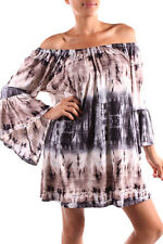 New Si Avance Mocha Grey Color Bell Sleeve Tunic Dress Blouse Poly S M L