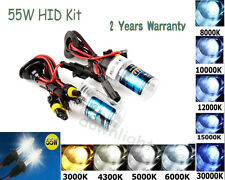 CAR XENON HID HEADLIGHT BULBS H1 H3 H7 9005 HB3 9006 H10 HB4 6000K 8000K 12000K