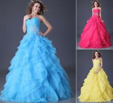 PRINCESS~ Quinceanera Dresses Formal Prom Party Ball Gown Pageant Wedding Dress