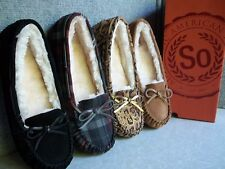 NWT $45. MSRP Womens  * SO *  Sonoma  Moccasin Slip - On Slippers