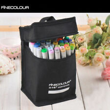 FINECOLOUR 24 36 48 60 72 112 Colors EF101 Sketch Marker Pen Bag Graphic Manga