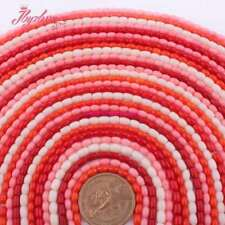 DIY Jewelry Making 3x5mm Column Coral Spacer Loose Gemstone Beads Strand 15""