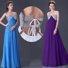 CHEAP FOR YOU PLUS SIZE Long Formal Evening Party Bridesmaid Wedding Prom Dress
