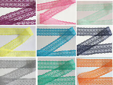 new 10/100 yards embroidery lace ribbon colors can be selected 10color