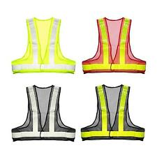 Useful Safety Reflective Vest  High Visibility Warning Traffic Construction Gear