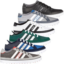 Adidas Golf 2015 Mens Adicross IV Golf Shoes Spikeless Water Resistant Wide Fit