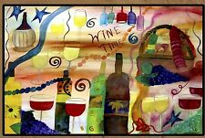 Wine Time Bar Floormat  20 ounce loop style from Original Art
