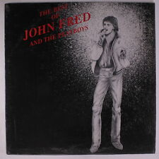 JOHN FRED & PLAYBOY BAND: The Best Of John Fred & Playboy Band LP (cover in shr