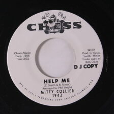 MITTY COLLIER: Help Me / For My Man 45 (dj, co) Soul