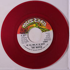 RUSTIX: We All End Up In Boxes / Mono 45 (dj, red vinyl) Rock & Pop