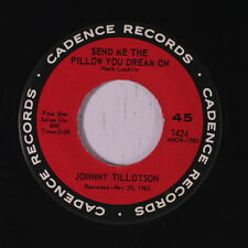 JOHNNY TILLOTSON: Send Me The Pillow You Dream On / What'll I Do 45 Oldies