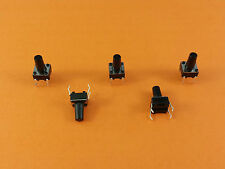 5x 10x 30x 50x Microtaster Mikro Schalter Tactile Switch Microschalter 6x6x10mm