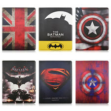Hot Kids Cartoon Flip Fold Stand PU Leather Cover Tablet Case For Apple iPad