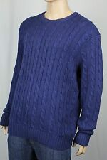 Polo Ralph Lauren Blue Crewneck Silk Linen Sweater NWT $185
