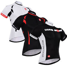New Men Team Riding Race Suits Cycling Tops Jersey Bicycle Shirt Latest 3 Style