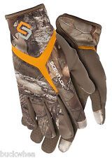 2015 Scentlok Full Season Release Glove Lost Camo   L, XL
