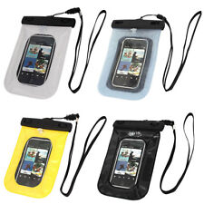 "Waterproof Pouch Swimming Underwater Diving Dry Bag Case for 4"" Cell Phone"