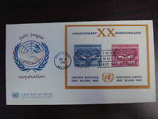Vintage 1965 United Nations First Day Issue Co-Operation