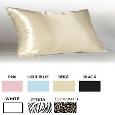 Satin Pillow Cases Betty Dain 7 Colors Standard & King