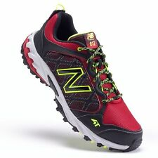 NEW MEN'S NEW BALANCE 612 TRAIL RUNNING SHOES!!! IN BLACK / RED / GRAY!!!
