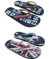 CAMP DAVID Herren Beach Slipper Flip Flops Australian Flag oder Australia 1963