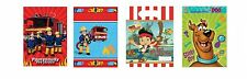 6/8 PARTY LOOT BAGS - Young Boy Birthday - TV Cartoon Designs (Kids/Gift)