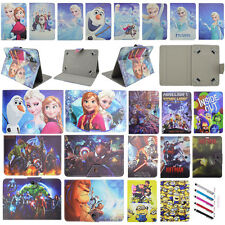 Kids Durable Flip Stand Case PU Buckle Cover For Universal 7/8/10'' Tablet PC