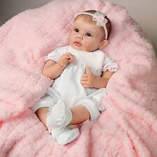 So Truly Real ASHTON DRAKE OLIVIA's Gentle Touch Interactive Lifelike Baby Doll