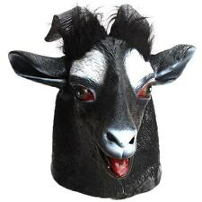 Animal Goat Sheep Devil Silicone Head Mask Halloween Dress Cosplay Costume Props