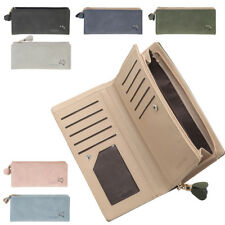 Ladies Leather Style Organiser Purse with Concertina Card Holder & Coin Section