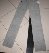 NEW SASS AND BIDE FRAYED MISFITS CORD JEANS GREY SIZE 25 TO FIT SIZE 6 RRP $200n