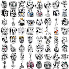 Hot Animal European bead for 925 sterling silver charms bracelet necklace CA-AN