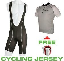 Bib Cycling Knicks Road Bike Tights + FREE Socks or Road Bike Jersey or Shorts