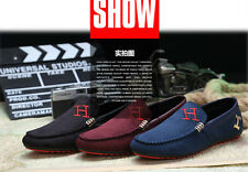 New Leather Slip On Mens Driving Moccasin Loafer Soft Casual Shoes