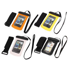 """Waterproof Case Dry Bag Skin Cover Pouch + Earplug Earphone for 4"""" Cell Phone"""