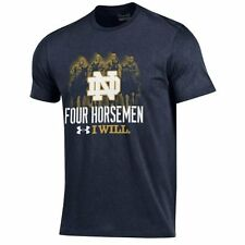 Under Armour Notre Dame Fighting Irish Navy Charged Performance T-Shirt