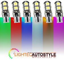 2x ERROR FREE CANBUS 9 SMD LED XENON W5W T10 501 CAR SIDE LIGHT BULBS HID AMBER
