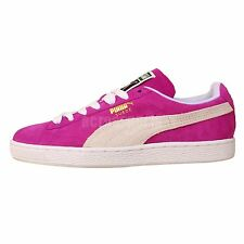 Puma Suede Classic Wns Purple White Womens Retro Casual Shoes 35546224