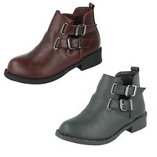 Girls Spot On Ankle Boots Label  H5035