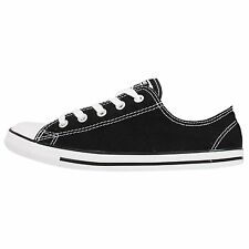 Converse Chuck Taylor All Star Dainty Black White Womens Shoes Sneakers 530054C