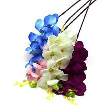 Butterfly Orchid Silk Flower Home Office Wedding Party Floral Decoration Bouquet
