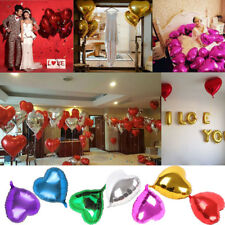 "3/5/10X 18"" Heart aluminum Foil Balloon Party Wedding Valentines Decor rewards"